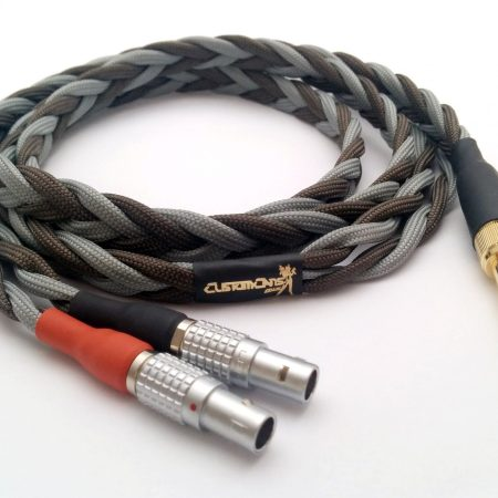Ultra-low capacitance cable for connecting Focal Utopia to balanced output – 2 pin LEMO connectors