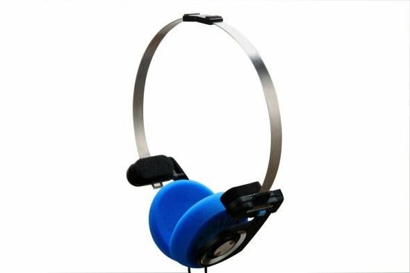 Blue pads for Koss PortaPro headphones