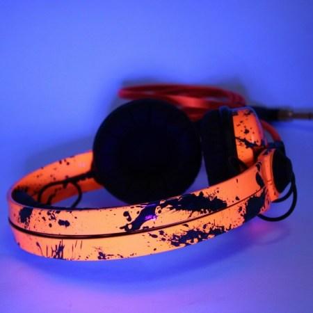 UV Neon Custom Sennheiser Headphones
