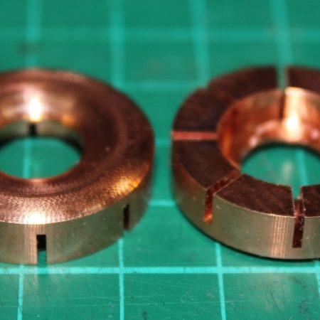 HD600 / HD650 CNC Copper Mass loading mod DIY kit