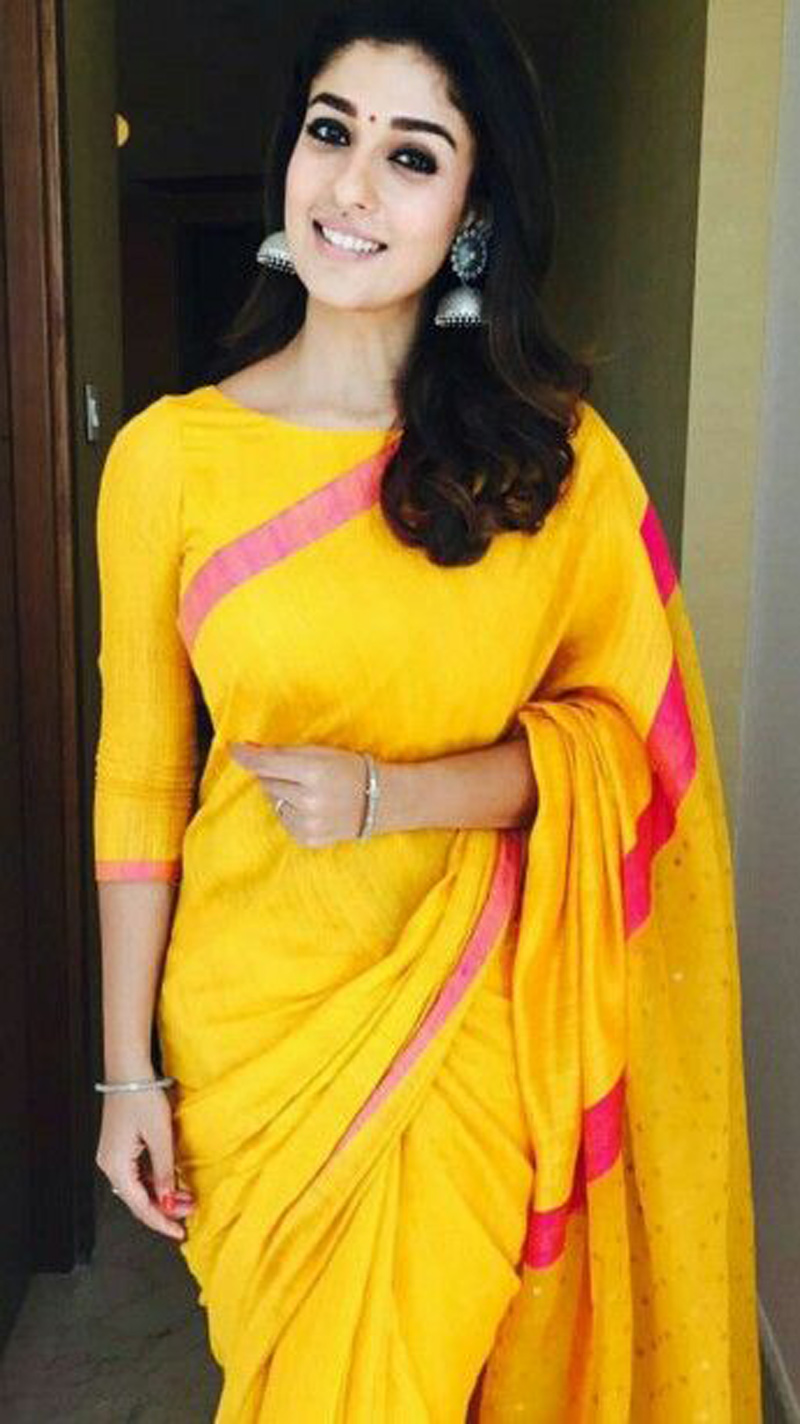8 Times Nayanthara Wore Saree And Stole Our Hearts  JFW