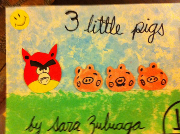 """Once upon a time, there were 3 little pigs and a big bad wolf"""