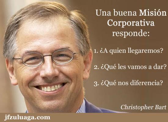 Una buena Misión Corporativa responde a estas 3 preguntas....