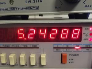 DDSの基準周波数を追い込む