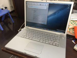プライベートは再び旧Mac修理