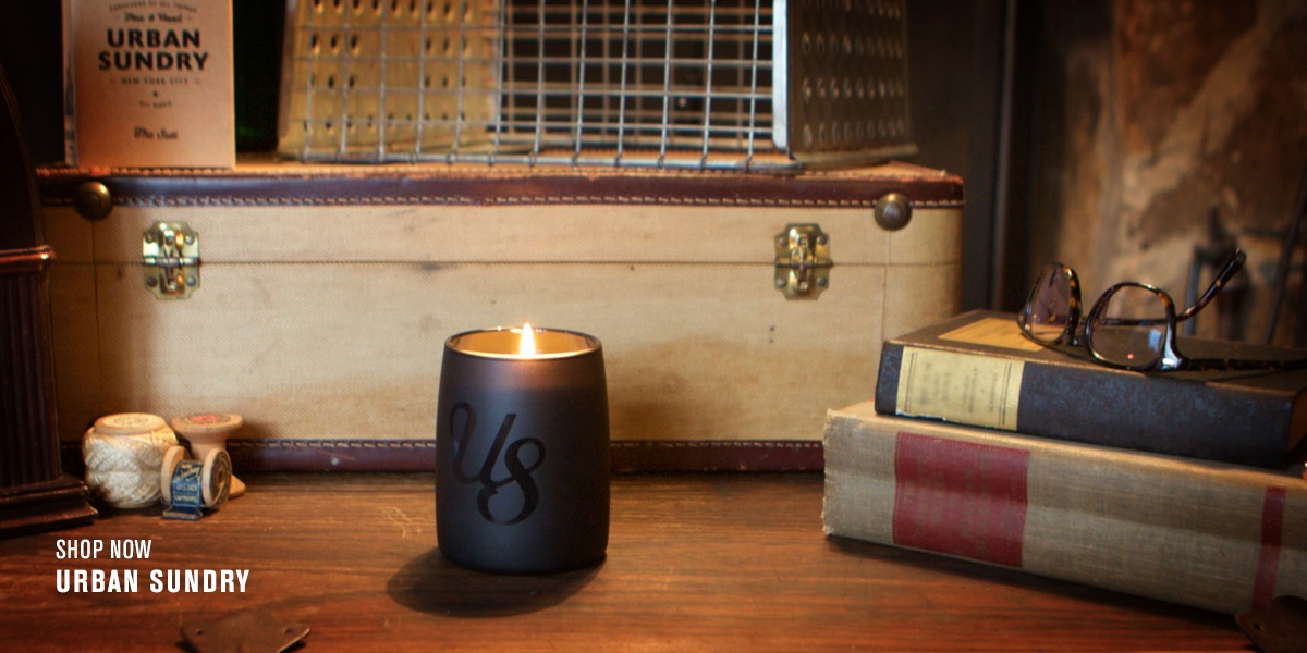 URBAN SUNDRY CANDLE COLLECTION BY JG & CO. BRANDS