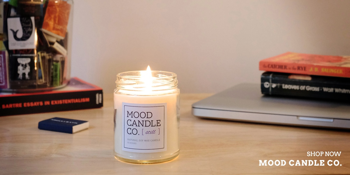 Mood Candle Co. Still Candle by JG & CO. Brands