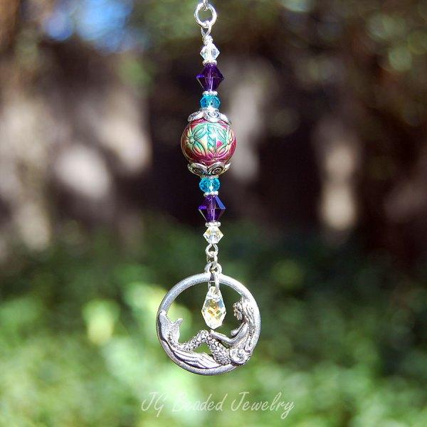 Swarovski Mermaid Decoration - Jg Beads