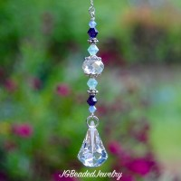 Raindrop Swarovski Crystal