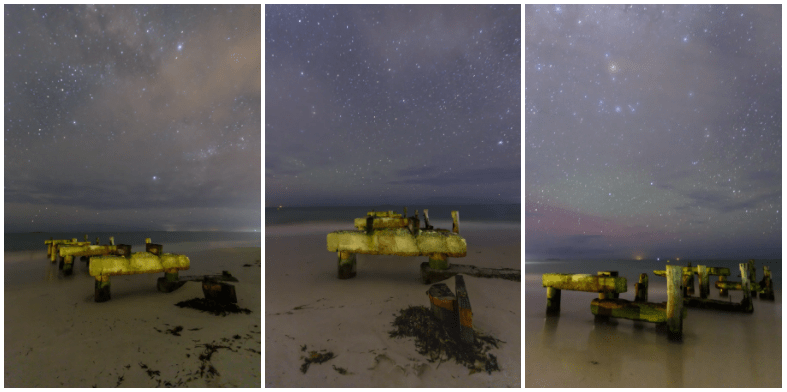 Old Jetty Under the Stars