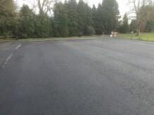 sports ground car park