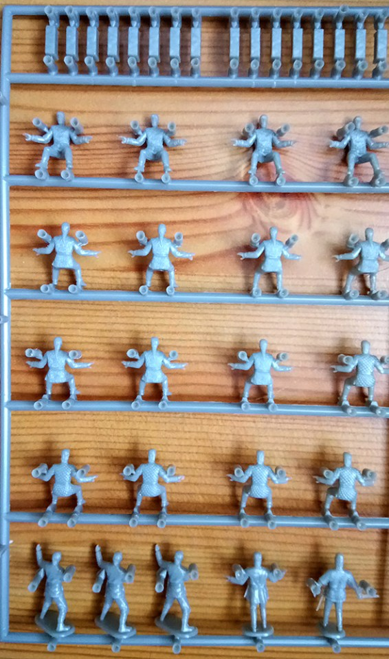 Emhar Gokstad 9th Century Viking Oarsmen Miniatures Wargaming