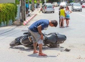 Accidentes de moto en Madrid