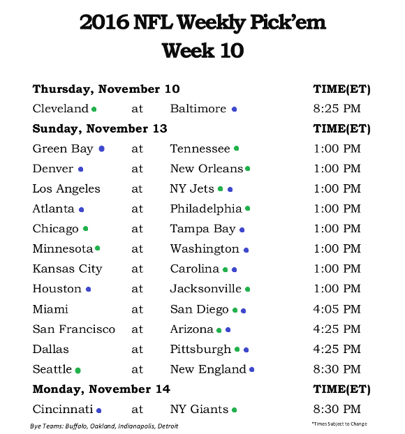 Nfl Week 10 Tips And Fantasy Picks  Jgoodwithsports