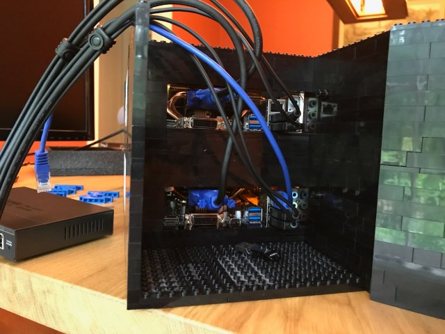 Front cabling starts to be messy with 2, how is it going to be with 4?