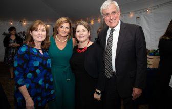 From left: Maryellen Larkin, Superintendent Heidi Riccio, Principal Shannon Donnelly and Robert Larkin. (Courtesy Photo Essex Tech)