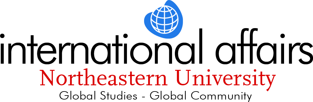 International Affairs program logo, Northeastern University (2006)