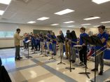 The Kearsarge Regional High School Band gave a performance at the 5th annual Veterans Day Breakfast on Friday. (Courtesy Photo Kearsarge Regional School District)