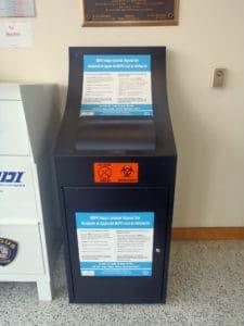 Saugus Police Department Sharps Kiosk (Courtesy Photo)