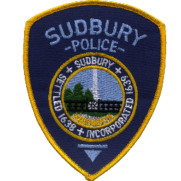 Sudbury Police Department Patch