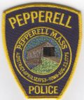 Retained by the Pepperell Police Department