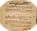 Reuben Hatter Pass papers