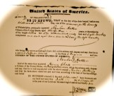 Reuben Hatter Pass papers