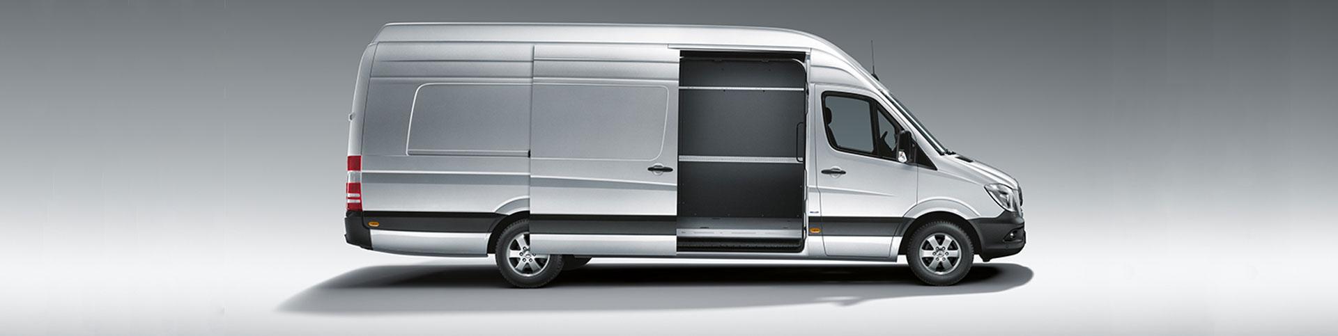 right view of van