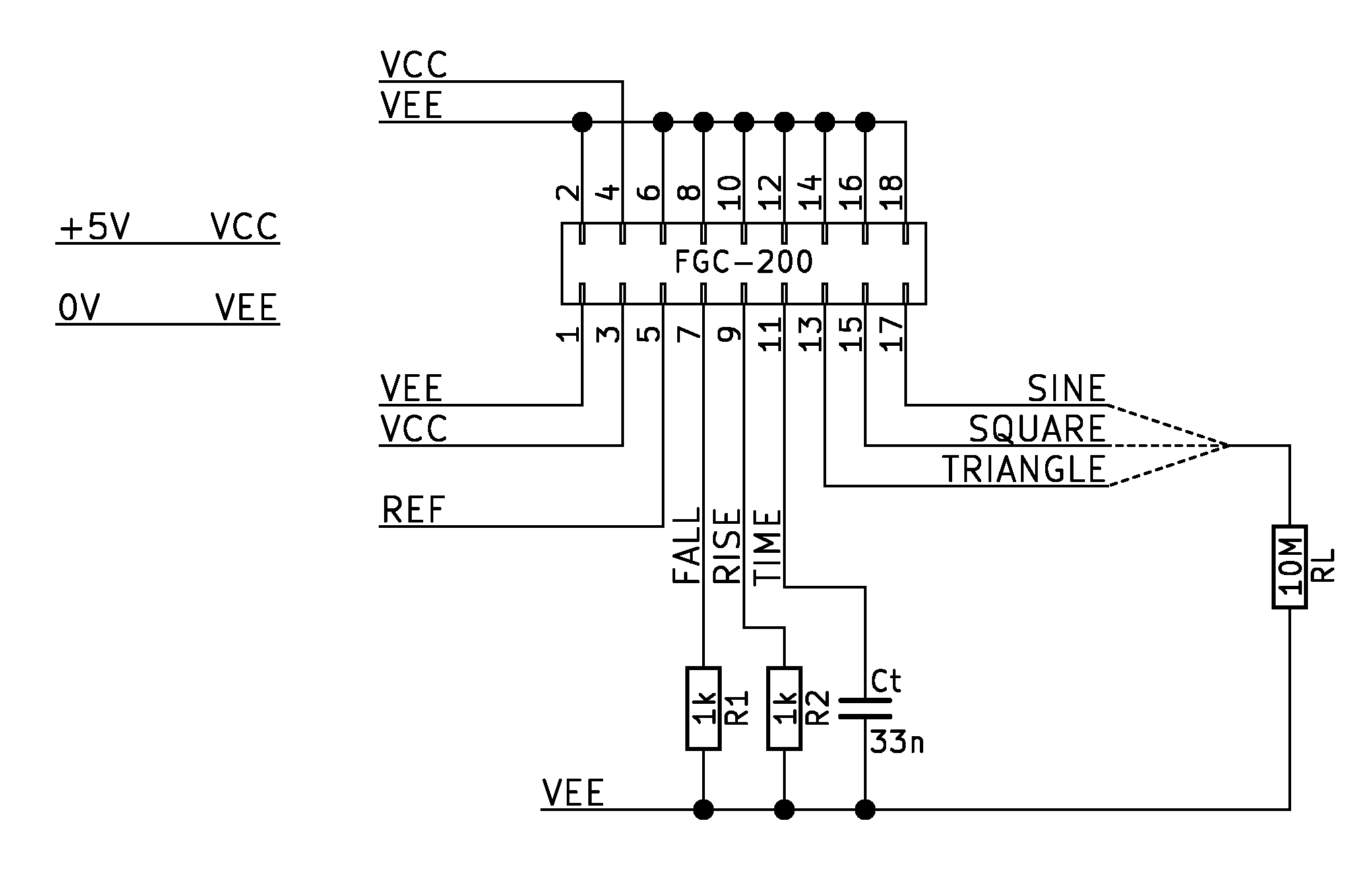 High-Frequency Transistorized Function Generator
