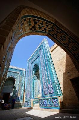 Shah-i-Zinda - Tashkent, Uzbekistan