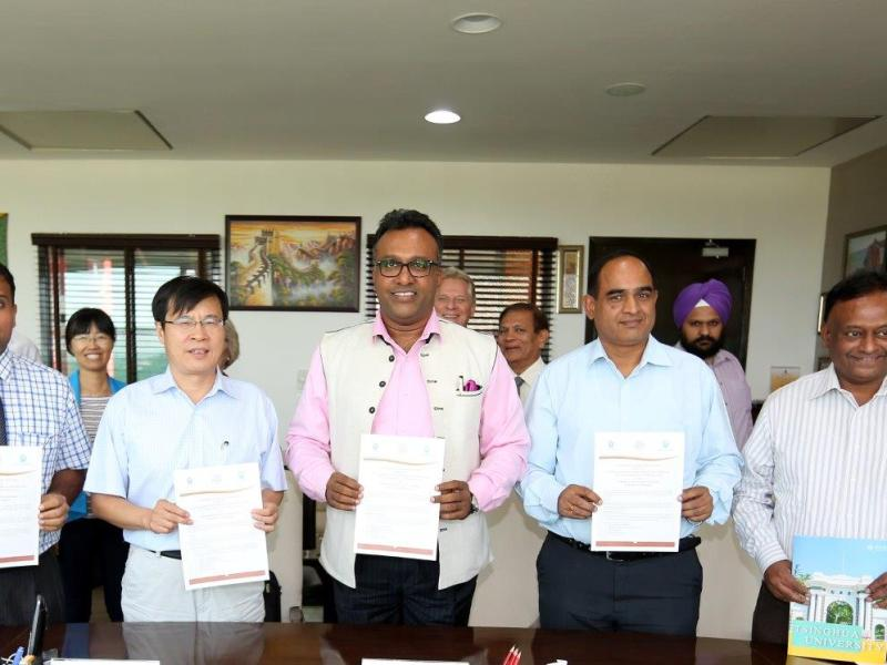 O.P. Jindal Global University and Tsinghua University Sign MOU Fostering Sino-Indian Cooperation