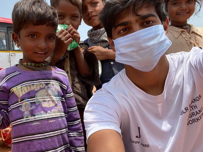 Lending a Helping Hand to Humanity: JSIA student & Corona Warrior, Dhruv Jatti, Shows the Way