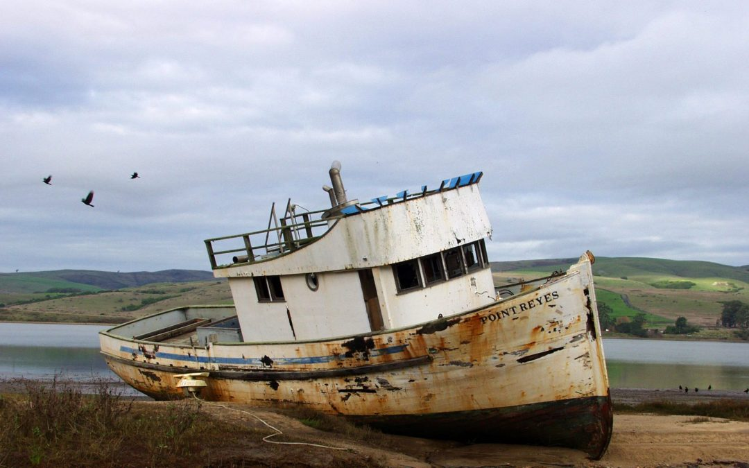 Point Reyes Fishing Boat 2001