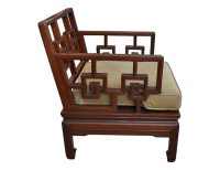 Pair of Antique Rosewood Meditation Chairs | The Local Vault