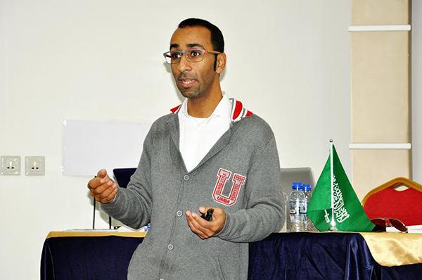 التوستماستر أحمد قريش تنمية سنابس