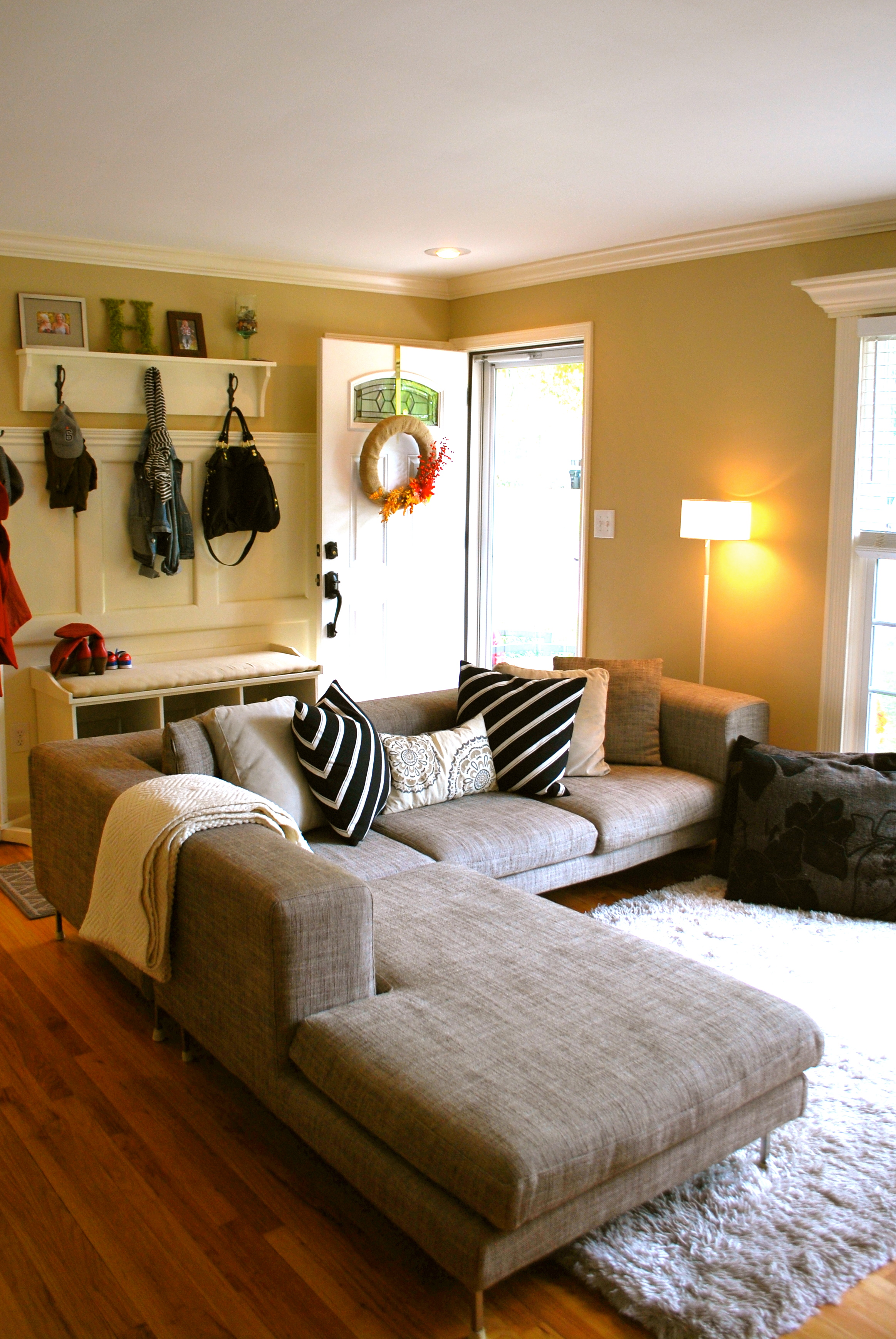 Neutral Living Room Design  The Suburban Urbanist
