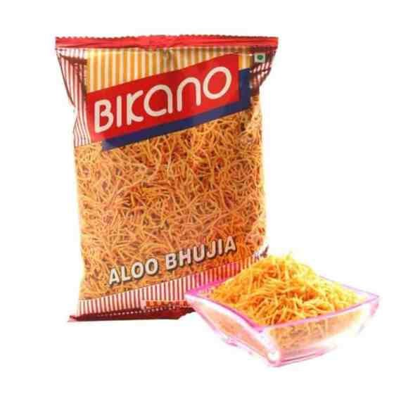 Bicano Aloo Bhujia Crunchy Spicy Noodles Of Potato And Chickpea Flour Namkeen 1Kg