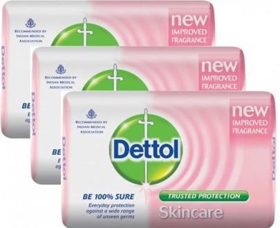 Dettol Skincare Soap Bar 3 PIECES