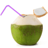 Fresh Coconut Water / Nariyal Pani - 1 Pc 60 rs