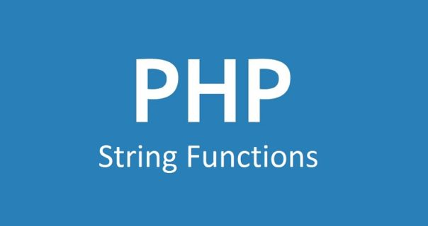 Frequently used PHP String Functions with Example & Explanation