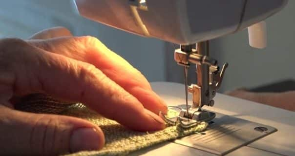 Beauty of an Over-locker Sewing Machine (1,500 Stitches per Minutes)