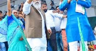 महा बदलाव रैली को जनता ने मेघदूत को धोबी पछाड़ दे सफल बनाया