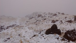 Snow on Haycock