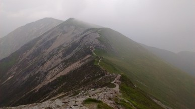 11.2 Whiteside ridge after the mist cleared