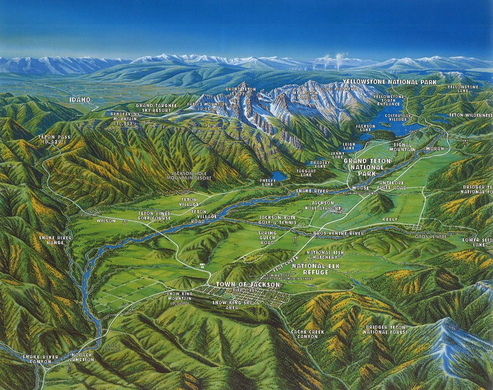 Jackson Hole Maps - Jackson Hole Chamber of Commerce