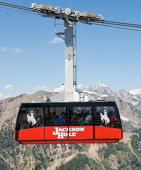 bungee chair amazon rocking ottoman covers jackson hole mountain resort aerial tram & summer activities - wy central reservations