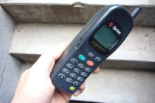 The phone that saved Sean.