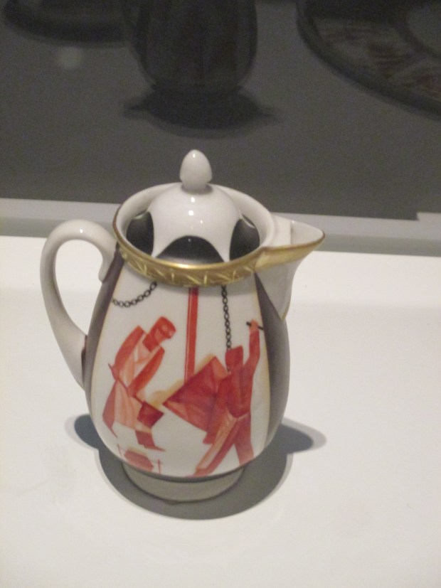 "Mikhail Mokh, State Porcelain Factory, Leningrad, tea set ""Metal,"" 1930 (The Petr Aven Collection)"