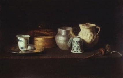[11] juan de zurbarán, still life with chocolate service (1640). bogdan and varvara khanenko museum of art, kiev. photo- akg-images. [page 5]