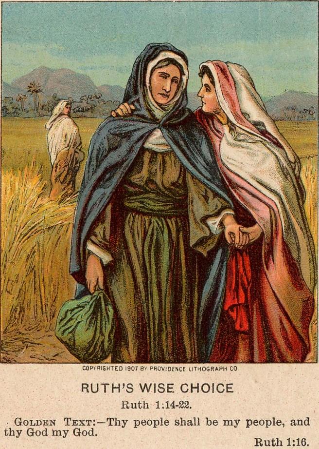 Ruth dan mertua Yahudinya Naomi